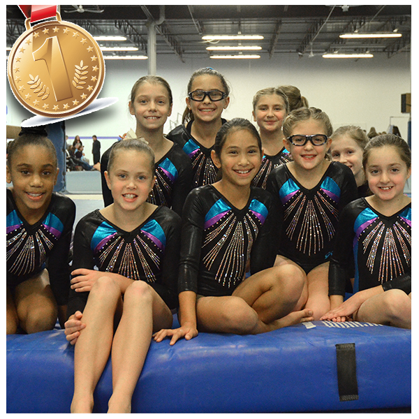 Competitive TeamUSAG 3-9, XCEL